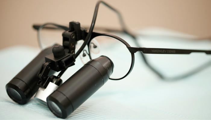 Лечение с оптикой